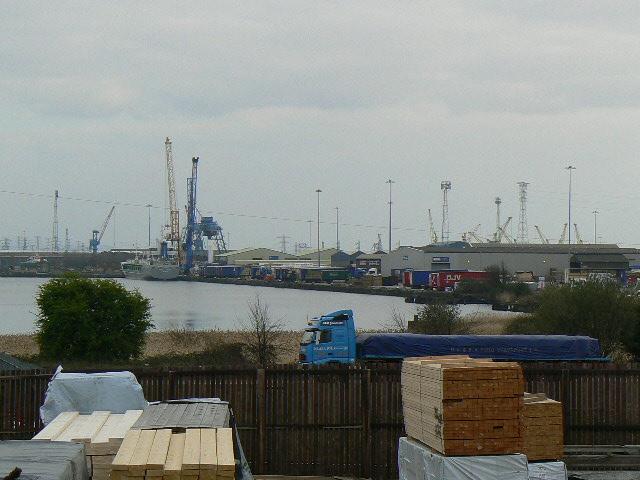 Docks at Newport