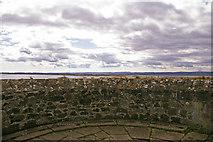 NU1341 : Ramparts, Lindisfarne Castle, Holy Island by Christine Matthews