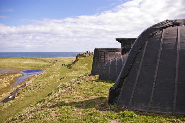 Lindisfarne Boathouses