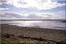 NU1341 : Foreshore, Holy Island, Northumberland by Christine Matthews