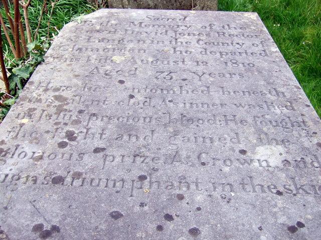 Grave of 'The Angel of Llangan'