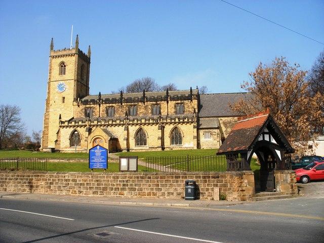 Holy Trinity Church and Lych Gate