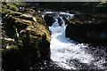 SX4870 : Whitchurch: Walkham waterfall by Martin Bodman