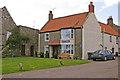 NU1241 : Britannia Guest House, Holy Island, Northumberland by Christine Matthews