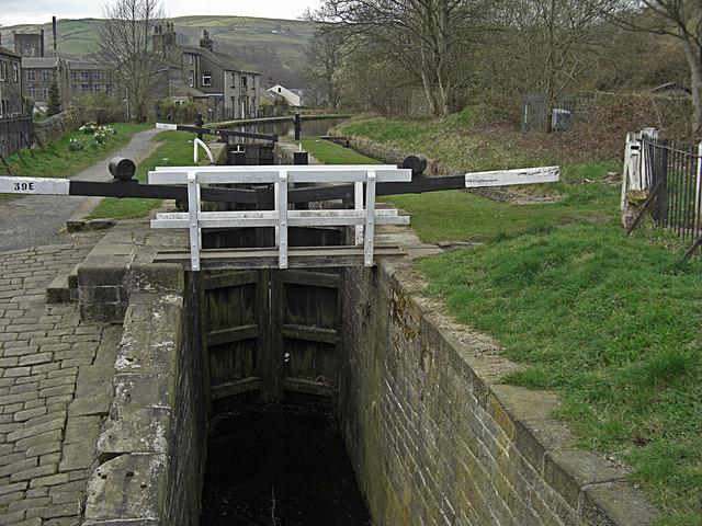 Lock 39E, Huddersfield Narrow Canal