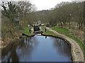SE0511 : Huddersfield Narrow Canal, Marsden by michael ely
