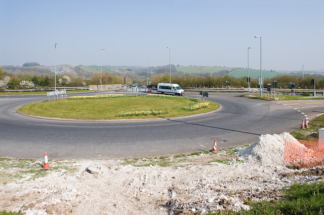 Hockley Link roundabout