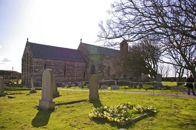 St Mary the Virgin, Holy Island, Northumberland