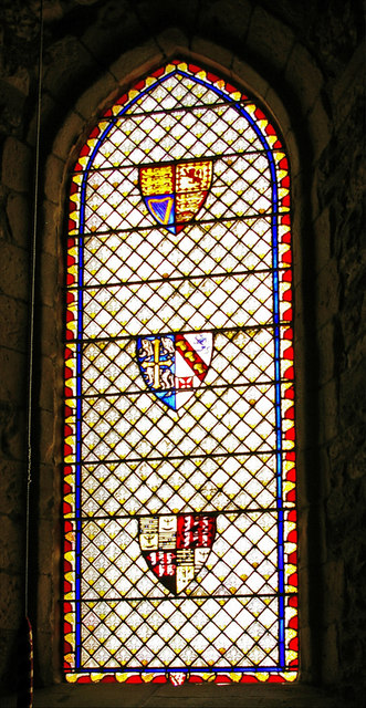 Stained Glass Windows, St Mary the Virgin, Holy Island