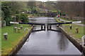 SD9321 : Sands Lock, Rochdale Canal by Stephen McKay