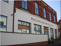SD4364 : Poulton Children's Centre, The Old Fire Station, Clark St, Morecambe, LA4 5HR by Robert Wade