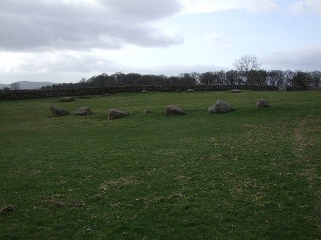 Stone Circle near Orton