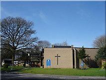 TM1542 : St Peter's Church, Stoke Park by Oxymoron