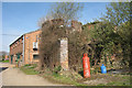 TQ6838 : Remains of Oast House at Pullens Farm, Lamberhurst Road, Horsmonden, Kent by Oast House Archive