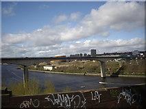 NZ2463 : New Redheugh (road) Bridge by Stanley Howe