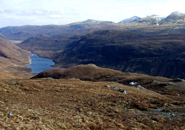 The smooth descent into Glen Orrin.
