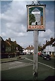 TQ7444 : Marden Village Sign by David Anstiss