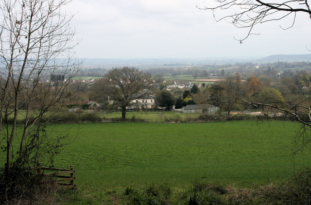 Blagdon Hill Village from the south west