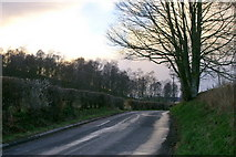 NO2650 : Road over Barry Hill, Alyth by Mike Pennington