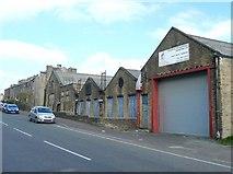 SE0724 : West End Works, Warley Road, Halifax by Humphrey Bolton