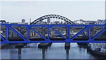 NZ2463 : Tyne Bridges by Christine Matthews
