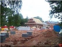 SS9712 : Tiverton : Housing Development at Tidcombe Walk by Lewis Clarke