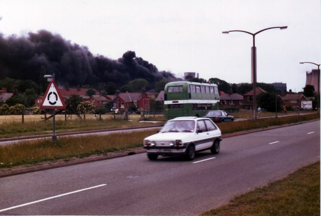 Penketh Tannery Fire