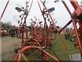 TL4479 : Hay and silage tedders, Cambridge Machinery Sale (13) by Michael Trolove