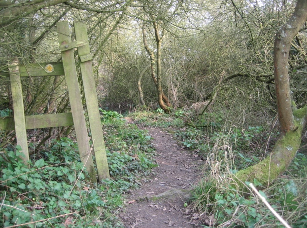 Evidence of the public footpath