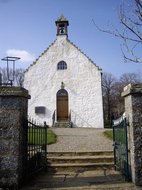 Steps to Clatt Church