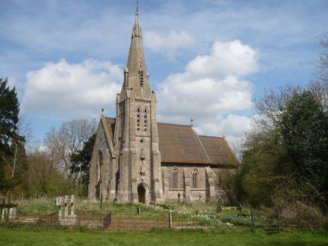 The church of St. Catherine, Kingsdown