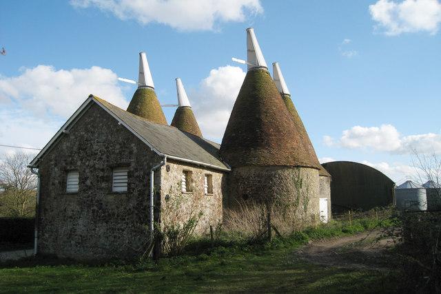 Oast House at Mote Farm, Mote Road, Ivy Hatch, Kent