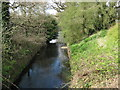 SP0683 : Bourn Brook As It Passes Under Pershore Road by Roy Hughes