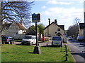TM1244 : Sproughton Village Sign by Adrian Cable