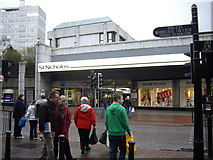 NJ9406 : Entrance to St Nicholas shopping centre by Stanley Howe