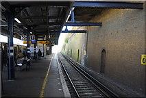 TQ7768 : Platform 1, Gillingham Station by N Chadwick