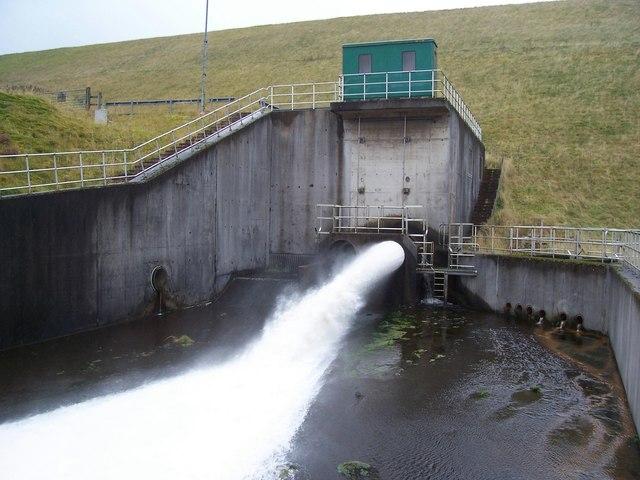 Upper Glendevon Reservoir Outlet