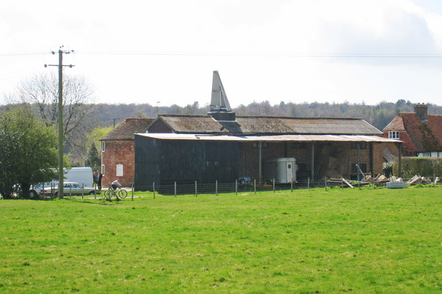 Oast Houses at Hook Green Farm, Free Heath Road, Lamberhurst, Kent