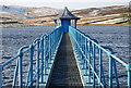 SE0135 : Outlet house, Leeshaw Reservoir, Oxenhope by M T WHITELOCK