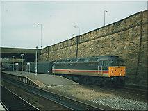 SE1632 : Parcels train at Bradford Interchange by Stephen Craven