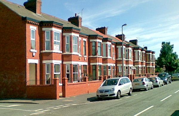 Terraced houses, Seedley Park Road