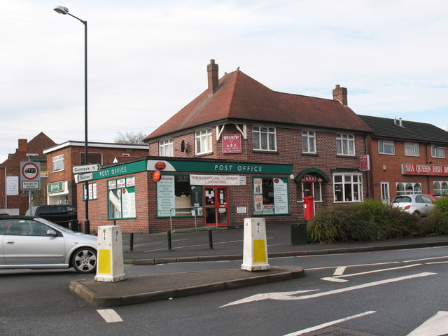 Burntwood Post Office
