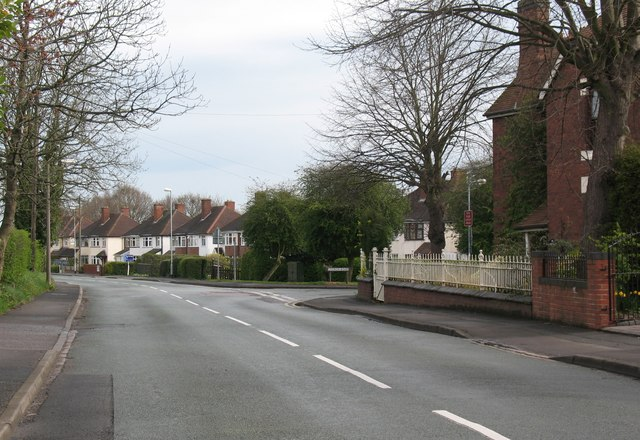 Junction of Rugeley Road and Church Road