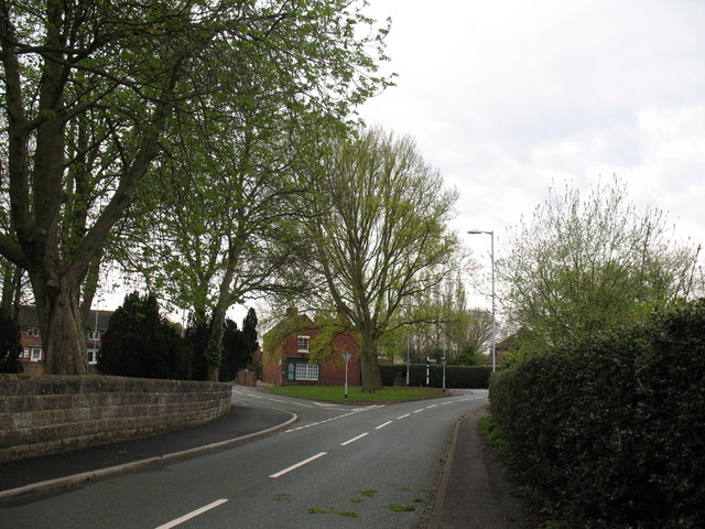 Junction of St Matthew's Road and Coulter Lane