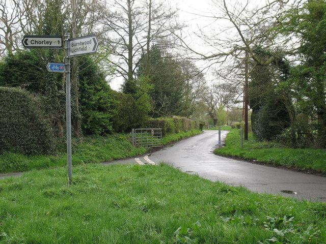Abnalls Lane, Spade Green