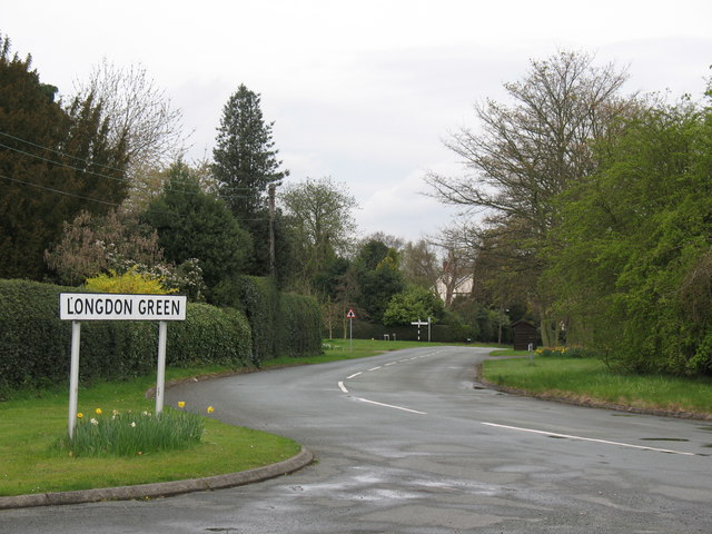 Entering Longdon Green