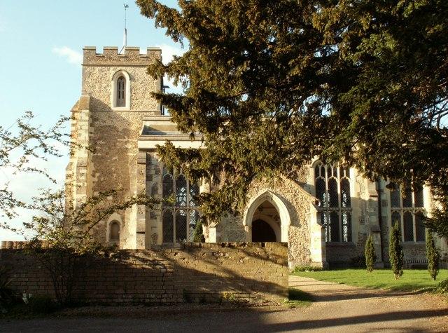 The parish church of Harlton