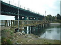 O1671 : Footbridge at Laytown, Co. Meath by Kieran Campbell