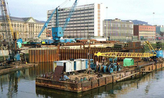 Weir and cross-harbour links, Belfast (3)