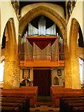 SD5192 : Holy Trinity Church, Kendal, Organ by Alexander P Kapp